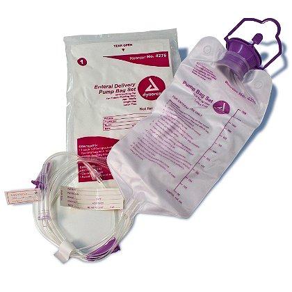 Dynarex Enteral Delivery Pump  Bag Set