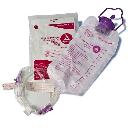 Dynarex Enteral Delivery Gravity Bag Set