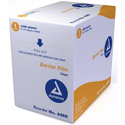 Dynarex Dental Barrier Film, 4
