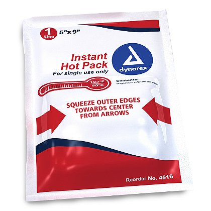 Dynarex Instant Hot Packs, 5