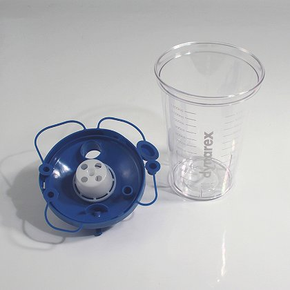 Dynarex Suction Canister (Hi-Flow) w/lid
