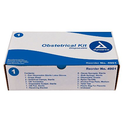 Dynarex Obstetrical Kit