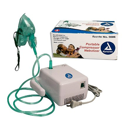 Dynarex Portable Compressor Nebulizer