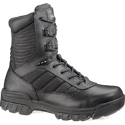 "Bates Women's 8"" Tactical Sport Side Zip Boot, Black"