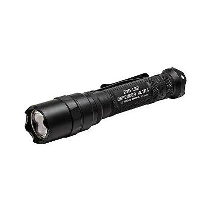 SureFire E2D Defender Ultra Dual Output LED Flashlight, 2 SF123A Batteries, 500 Lumens, 5.6