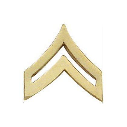 Smith & Warren Corporal Chevron Collar Pin