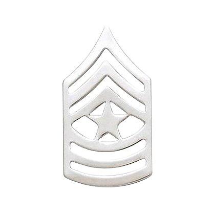 Smith & Warren Sergeant Major Chevron Collar Pin, 1.52