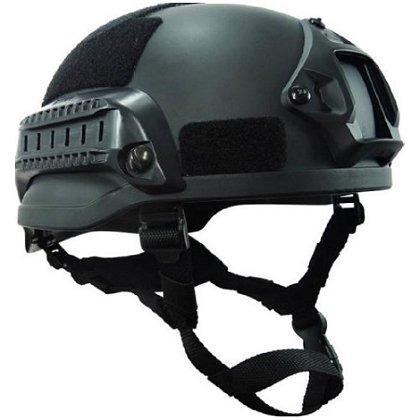 EDI MICH III-A Ballistic Helmet with Side Rails and NVG Shroud