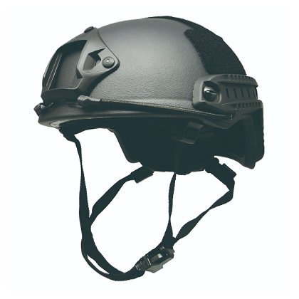 EDI FAST High Cut III-A Ballistic Helmet with Side Rails & NVG Shroud
