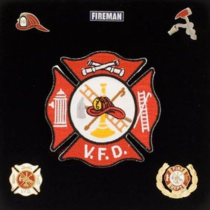 Volunteer Fire Department Patch & Pin Kit