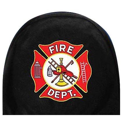 Fire Dept. Maltese Cross Car Headrest Cover