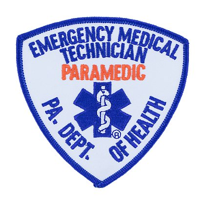 PA Dept of Health PARAMEDIC Patch