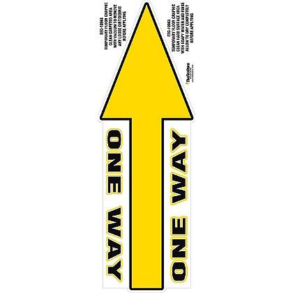 Exclusive Wellness One Way Arrow Decal