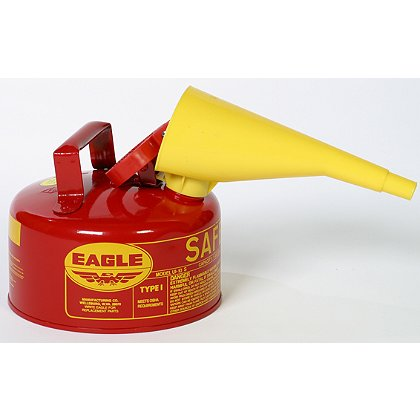 Eagle Manufacturing Type I Round Galvanized Steel Safety Gas Can