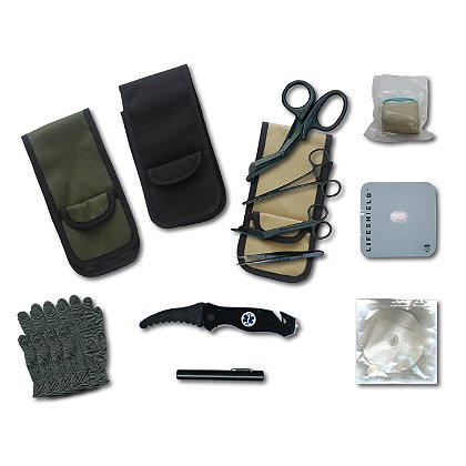 EMI Emergency Tactical Response Quick Response Holster Set