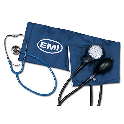 EMI Procuff Sphygmomanometer w/ Black Dual Head Stethoscope