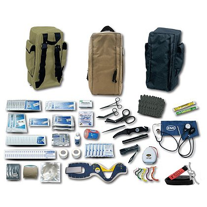 EMI Emergency Tactical Response Response Packs Complete Kit