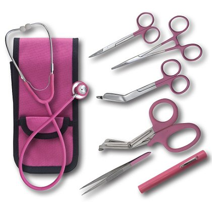 EMI Colormed Deluxe Holster Set, Pink