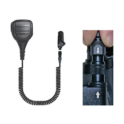 Ear Phone Connection Quick Release Radio Headset