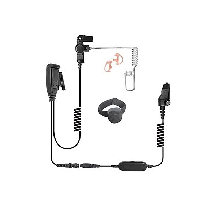 Stringray X2 Lapel Mic w/ Scorpion Wireless Finger PTT Transmitter