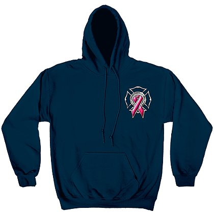 Erazor Bits Firefighters Race For A Cure Hoodie