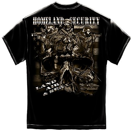 Erazor Bits Homeland Security T-Shirt