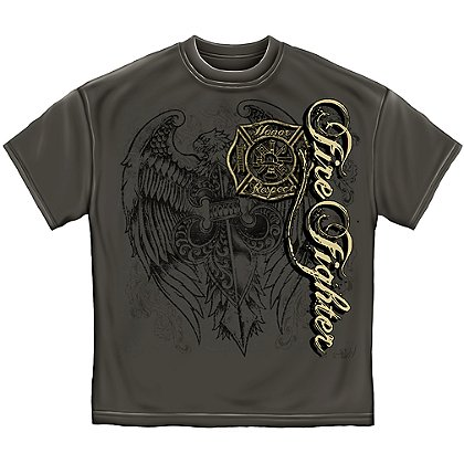 Elite Breed Firefighter Eagle T-Shirt