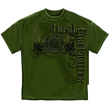 Elite Breed Irish Firefighter T-Shirt