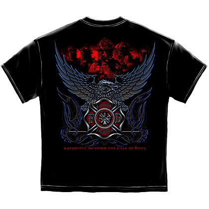Maltese Cross Eagle Sacrifice Beyond the Call of Duty T-Shirt