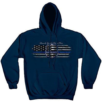 Erazor Bits Blue Lives Matter Hoodie