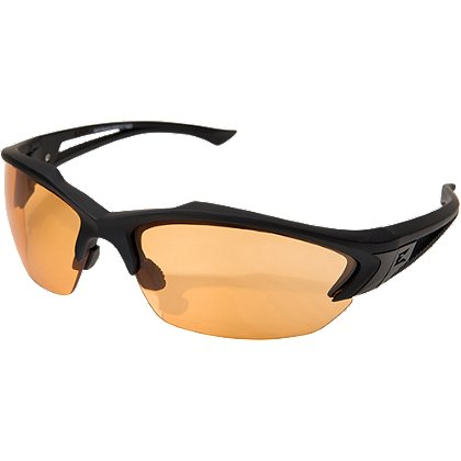 Edge Tactical Acid Gambit Protective Eyewear, Matte Black Frame