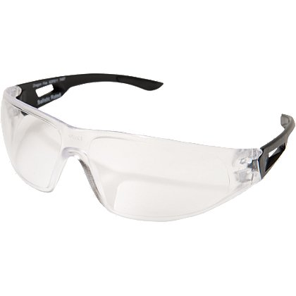 Edge Tactical Standard Eyewear, Matte Black Frame