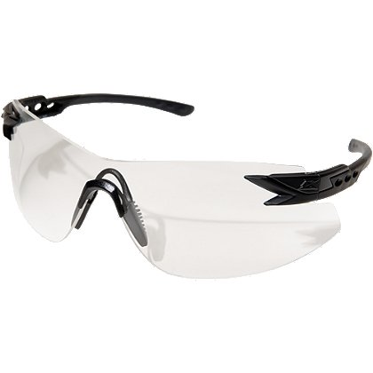 Edge Tactical Notch Standard Eyewear, Matte Black Frame