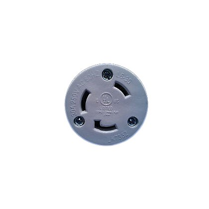 RamFan NEMA Twistlock Plug for EG8000 Smoke Ejector, 250 Max Volts