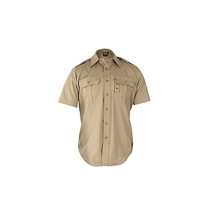 Propper Tactical Dress Shirt, Short Sleeve, Battle Rip 65/35 Poly/Cotton Ripstop