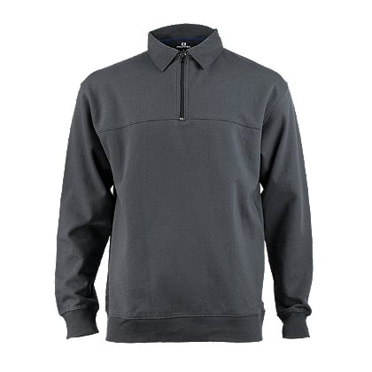 Propper Job Shirt, Quarter-Zip, Large, Charcoal