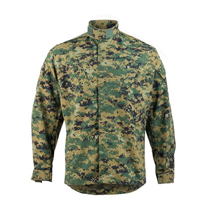 Propper Battle Rip ACU Coat 65/35 Poly/Cotton Ripstop