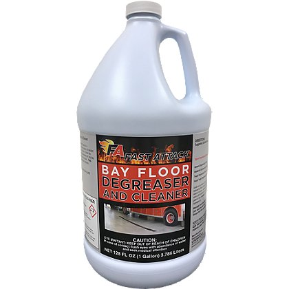 Fast Attack Bay Floor Cleaner and Degreaser