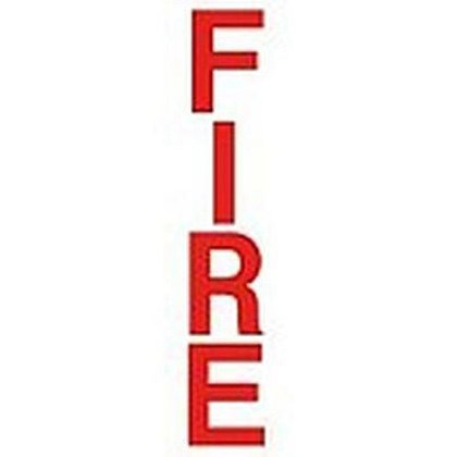 Fire Alarm Box 10 Inch Decal