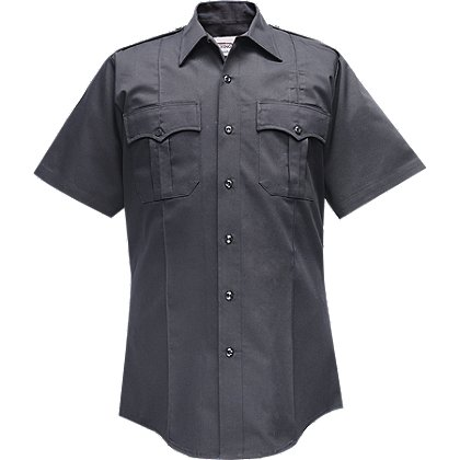 Flying Cross Valor Men's Short Sleeve Shirt, 65% Polyester/35% Cotton