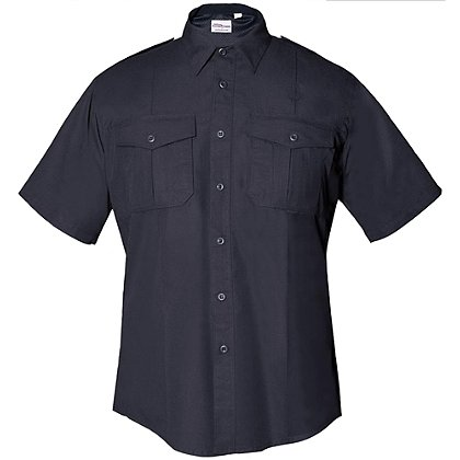 Flying Cross FX Men's Class B Short Sleeve Shirt, Navy