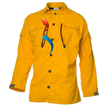 Coaxsher Wildland Vent Brush Shirt, Yellow