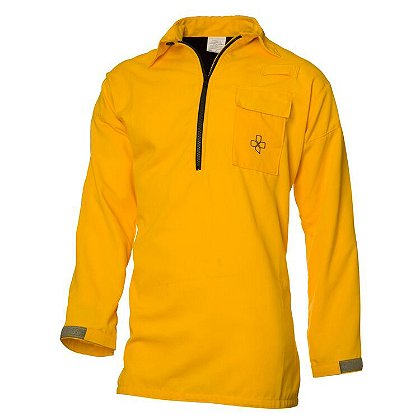 Coaxsher 5.8 oz Tecasafe Plus Yellow Stryker Wildland Fire Shirt