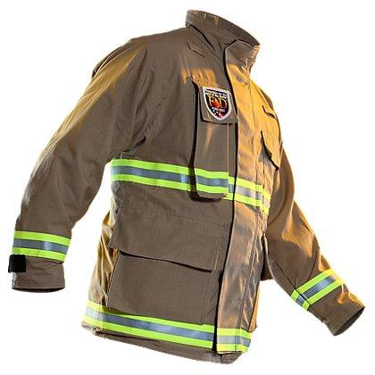 Fire-Dex Tan USAR Coat, Nomex III