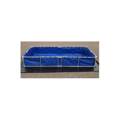 Fol-Da-Tank Decon Pool, 4' X 4' X 18