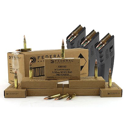 Federal Cartridge and Mag Combo