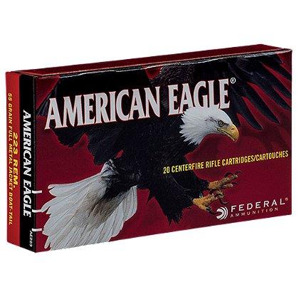 Federal Cartridge American Eagle Rifle 223 REM. 55 Grain FMJ Boat Tail