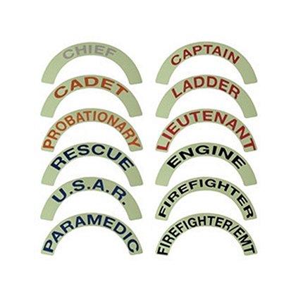 FoxFire Illuminating Reflective Helmet Rockers/Crescent Stickers