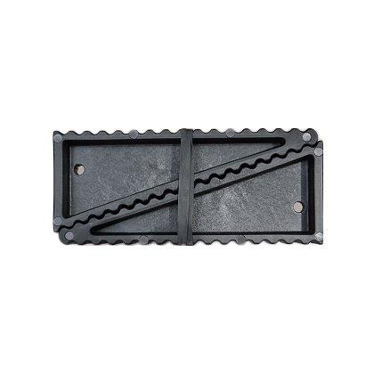 FF Wedge Black, 2 pk