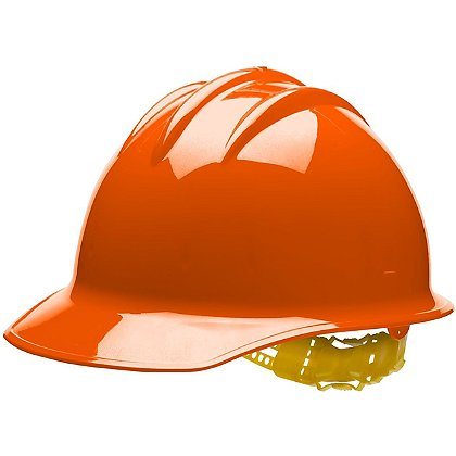 Bullard Cap Style Wildland Helmet with Pinlock Suspension, Orange